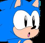 Classic Sonic icon GIF