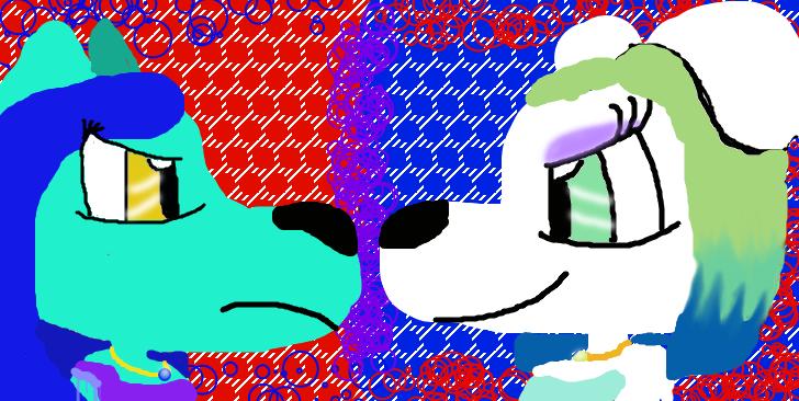 CAT V.S DOG (series 1, ep.2) by waterartistwolfaqua