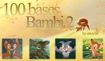 Icon bases: Bambi 2 by CrazyDD