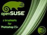 openSUSE logo brushset