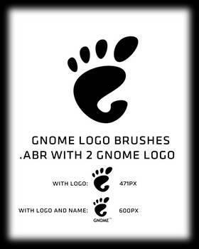 GNOME logo brush
