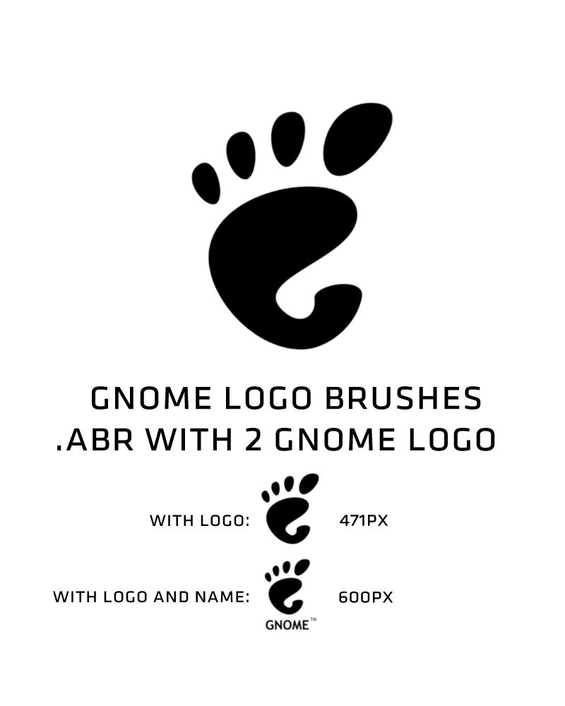 GNOME logo brush by deviantdark