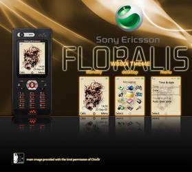 Floralis Theme for SE W880i