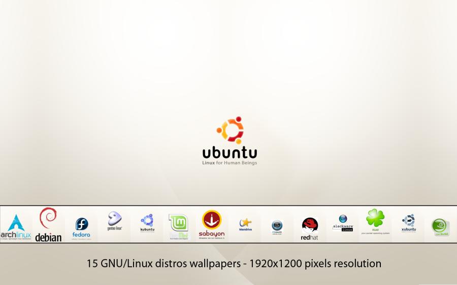 GNU-Linux Distros Wallpapers by deviantdark
