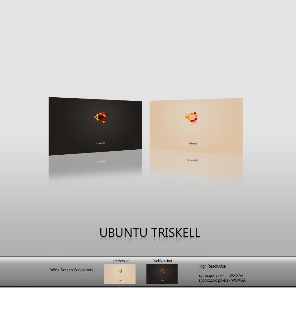 Ubuntu Triskell by deviantdark