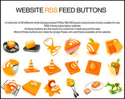 RSS feed button pack