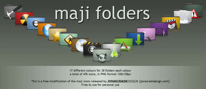 Maji Folders by deviantdark