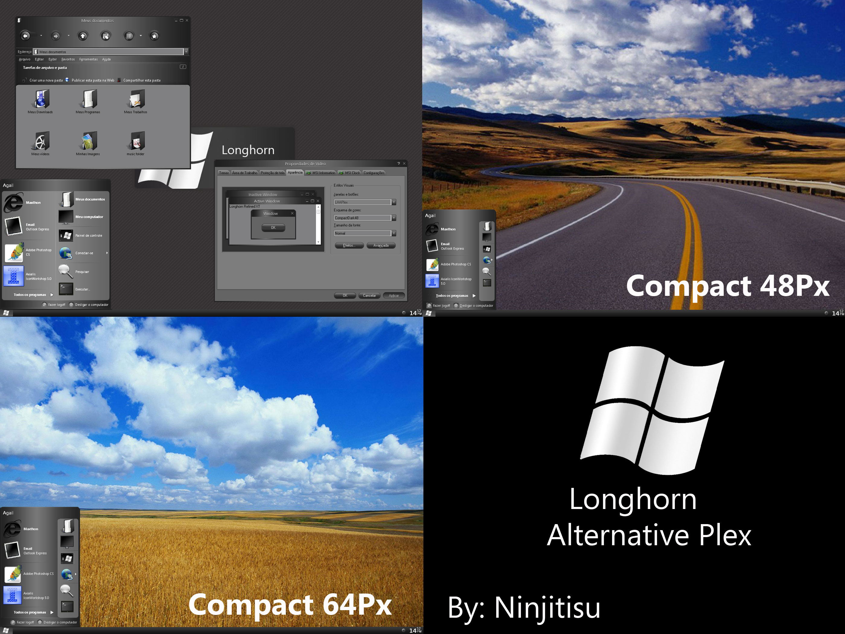 Longhorn Alternative Plex by Ninjitisu