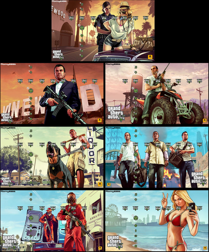 GTA V Theme (PS3) by Ronnie8886