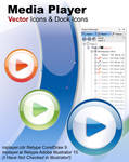 Media Player Vector Icons