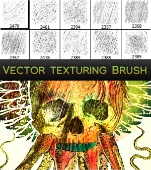 Vector Texture Brushes by Enigma-Design