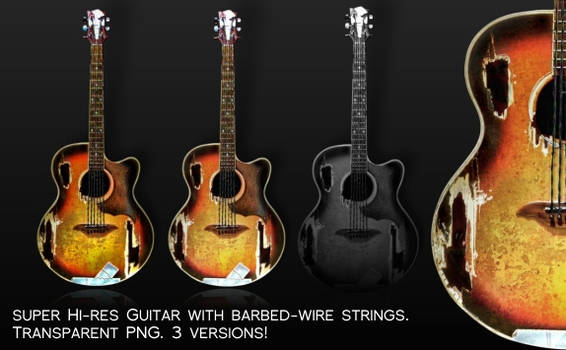 Barbed Wire Guitar