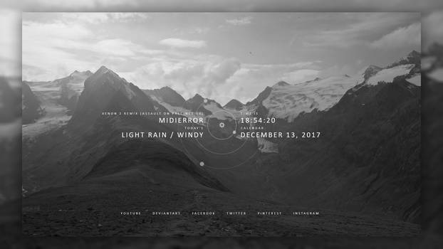 [Rainmeter] Simply / 1.0