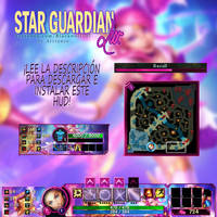 Star Guardian Lux HUD League of legends by arrianee