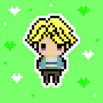 Yoosung Chibi Pixel Art