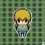 Kenji Chibi Pixel Art