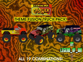 Fusion Themed Trucks Series #7 by legendofwii92