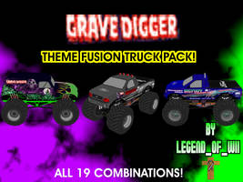 Fusion Themed Trucks Series #10 by legendofwii92