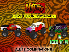 Fusion Themed Truck Series #13 by legendofwii92