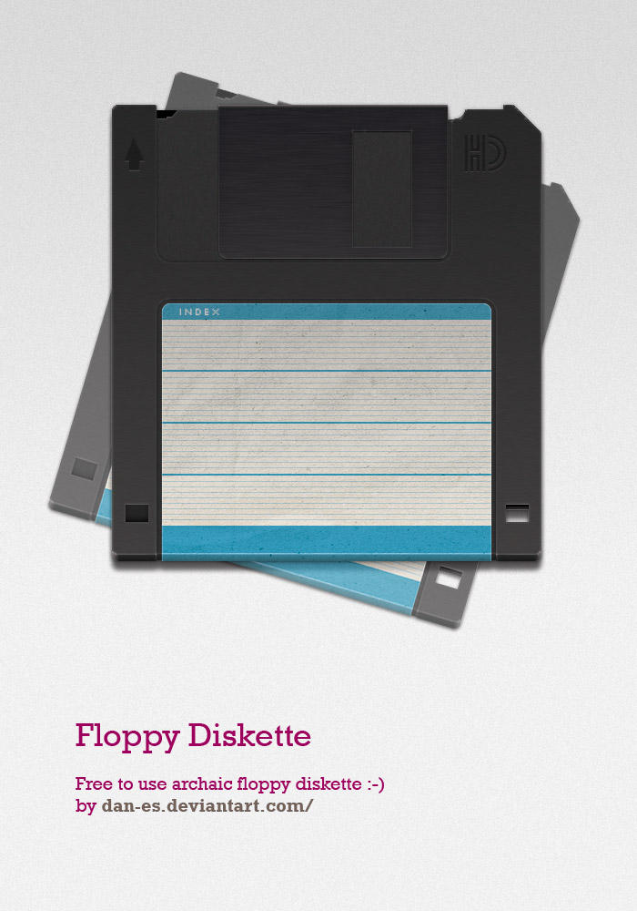 Free Floppy Disk by dan-Es