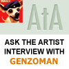 ASKtheARTIST Interview: GENZOMAN by thefluffyshrimp