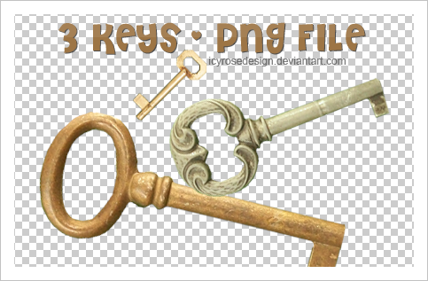 PngKEYS_stock by icyrosedesign