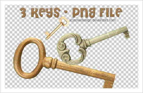 PngKEYS_stock by icyrosedesign