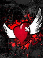 Abstract heart nokia theme by xR4nD0mx3m0x