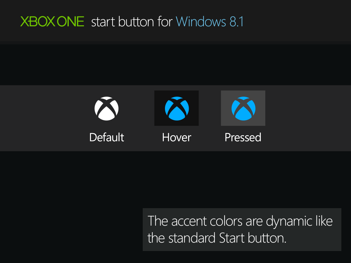 Xbox one start button for windows 8 1 by rexadde on deviantart for Door to windows