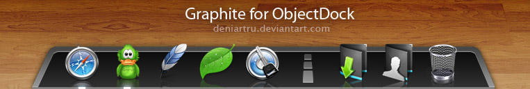 Graphite for ObjectDock by deniartru