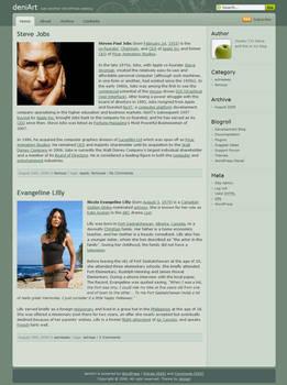 Devart v1.0 - Wordpress Theme