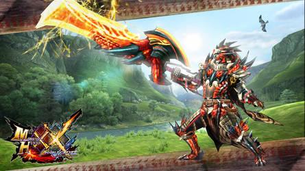 Dreadking Rathalos Blademaster Armor Set by Rough-Chrysalis