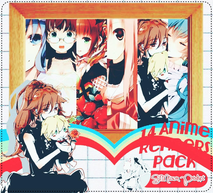 Anime Render Pack By Sakuraaoshiki