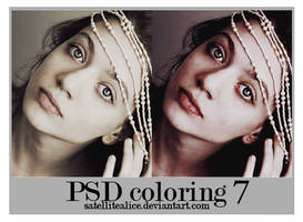 PSD coloring 7 by SatelliteAlice