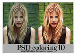 PSD coloring 10