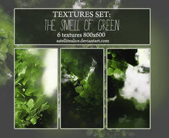 Textures set: The smell of green by SatelliteAlice