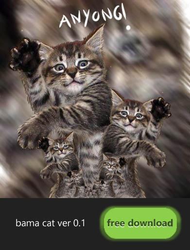 Bama Cat Ver 0.1 Template  by mdsotoke