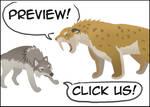 Pleistocene Rancho La Brea Interactive by comixqueen
