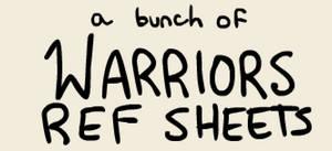 warrior ref sheets