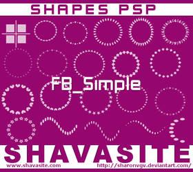 SHAPES PSP Pack 4