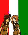 Nyotalia! Italy and Romana