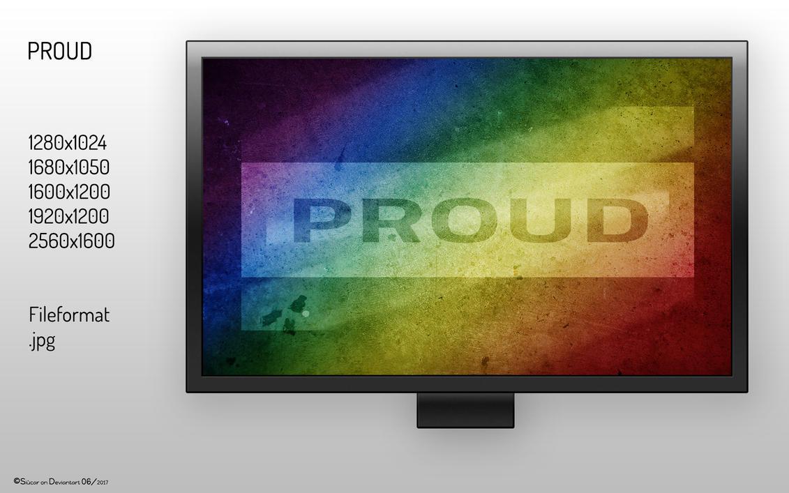 [WALLPAPER] Proud by SIUCAR