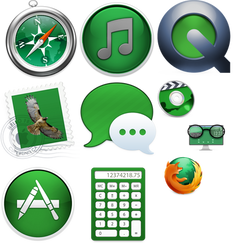 Apple iCon Collection 1 by Thiamond
