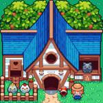 Top down Farm House