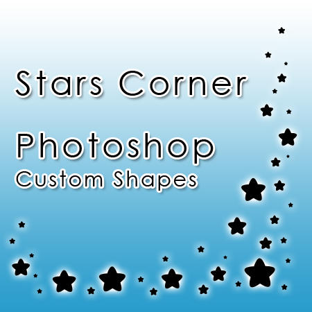 Stars Corner Custom Shapes by alesscop