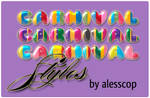 Carnival Mardi Gras Styles PS