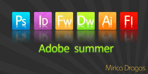 Adobe Summer Icons