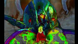 Supergirl vs. Brainiac (Now with sound)