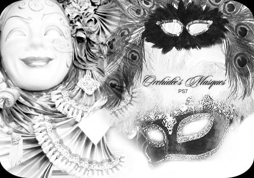 Orchidee's Masques by orchidee