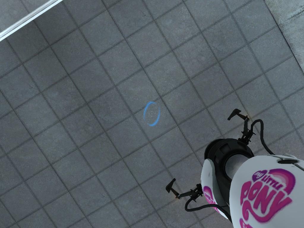 My Little Portal Gun by MLP-Portal